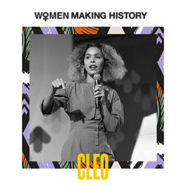 WOMEN MAKING HISTORY: CLEO WADE