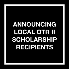 MIAMI OTR II SCHOLARSHIP RECIPIENTS
