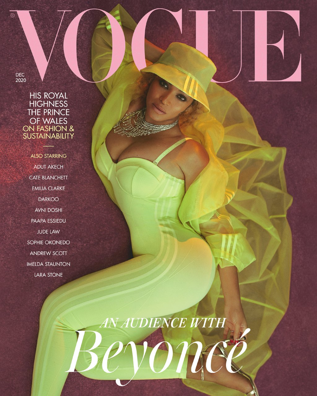 Cover: British Vogue December 2020 - IvyPark